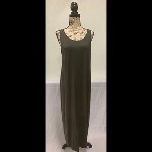 Eileen Fisher System Viscos Jersey Tank Dress
